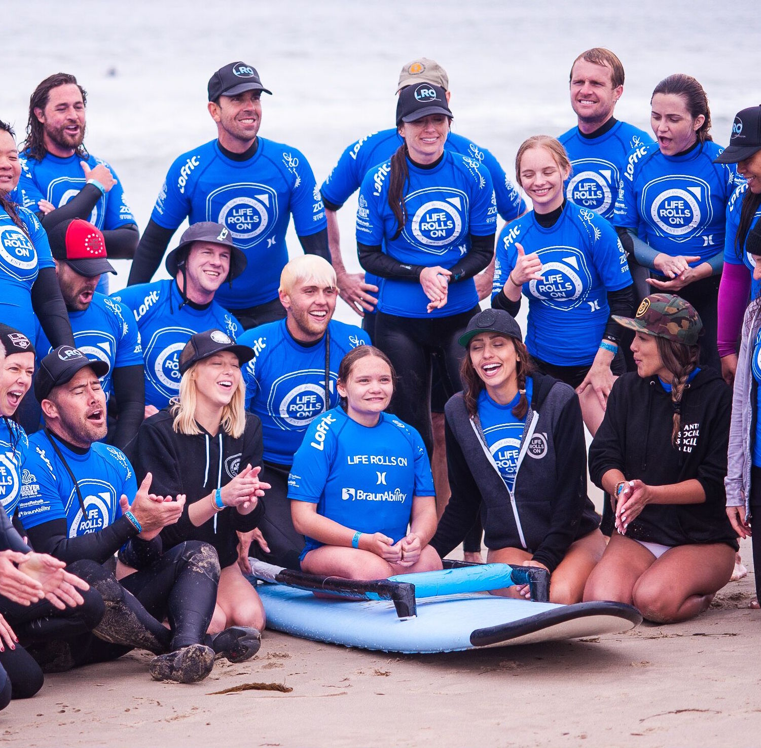 Epic surf events for adaptive athletes